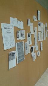 Visite de l'atelier (Cliché V. Tissier-Le Nénaon, 23 juin 2016 / Archives de Rennes)